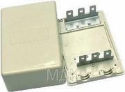 Коробка телефонная распределительная на 30 пар,  КРТМ-30х2 (КРТ-30),  без плинтов