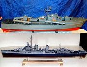 Модели кораблей,  яхт и катеров