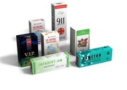 Производство картонной упаковки Киев,  картонная упаковка для лекарств