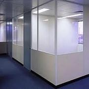 Перегородки для офисов,  перегородки разделительные,  внутренние