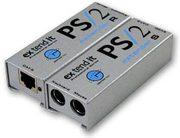 Удлинитель линий PS/2 (клавиатура,  мышь,  проектор) по витой паре (5 Ca