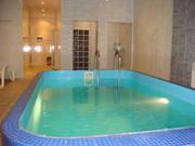 Посуточная аренда дома  с сауной и бассейном на Десне