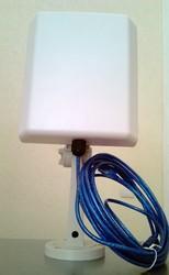 Комплект для дальней связи на море - Wi-Fi антенна 14 дБи и усилитель
