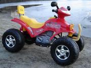 Продам детский єлектро-квадроцикл 2-х местный