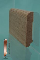 Изготовление плинтуса деревянного массивного,  тонировка плинтуса,  дубо