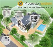 Установка (монтаж ) беспроводной охранной сигнализации для дома