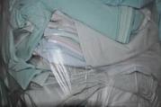 ветошь обтирочная,  отходы ткани масловмитывающие