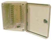 Пластиковый распределительный настенный шкаф (коробка) POLI-022
