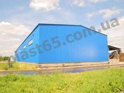 Ангары быстровозводимые,  строительство ангаров и складов под ключ.