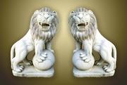 Продам мраморные статуи львов