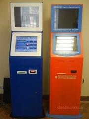 терминалы платежные для помещений и улиц