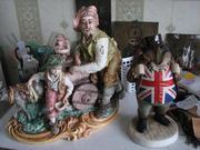 Реставрация трещин,  сколов на элитных  куклах,  масках,  сувенирах,  статуэтках,   игрушках.