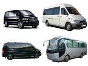 транспортное обслуживание туристических групп по Украине СНГ и Европе