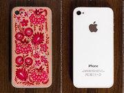 Художественная панель-накладка для Iphone4-4s