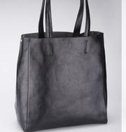 Италия. Стильная сумка из натуральной кожи