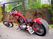 Harley Davidson Sweden chopper