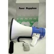 Мегафон переносной 25 ,  рупор,  гучномовець с микрофоном,  громкоговорит
