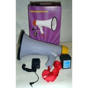Мегафон переносной 1503,  рупор,  гучномовець со съёмным микрофоном,  гро
