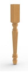 Ножка табурета деревянная