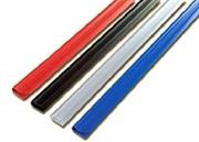 Планка-зажим 4мм (черный,  желтый,  красный,  зеленый),  уп/100шт.