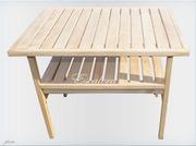 Журнальный столик деревянный