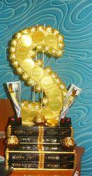 Доллар из конфет «Финансовый успех»