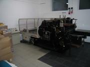 Полиграфическое оборудование для высечки и тиснения
