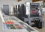 Офсетная печатная листовая полиграфическая машина Roland,  Heidelberg