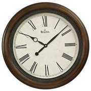 Настенные часы BULOVA C4108 из ценных пород дерева в Украине
