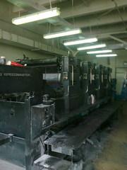 четырехкрасочная офсетная печатная машина Гейдельберг 102-4