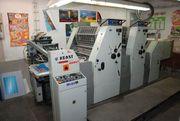 двухкрасочная печатная офсетная листовая машина форматом А2