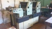 2-х красочная печатная офсетная листовая машина форматом В3