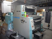 2-х красочная печатная листовая машина роланд,  формат В2