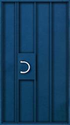 дверь металлический однолистовой