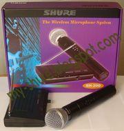 Радиосистема Shure SH-200 купить Киев один радио микрофон - Цена 240 г