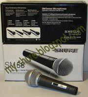 Купить Киев Shure SM58 вокальный шнуровой микрофон - цена 120 грн.