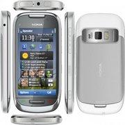 Nokia C7 Silver