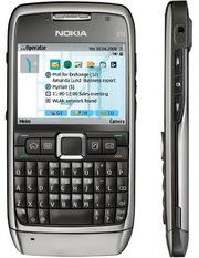 Nokia E71 Расчет при получении