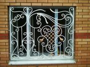 Решетки на окна Киев,  оконные решетки Киев,  кованые и сварные решетки