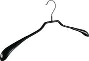 Металлические Плечики для одежды обрезиненные усиленные,  40 см, 45 см,