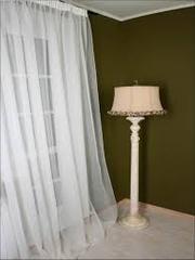 тюль  на окна готовая  - 2 вида