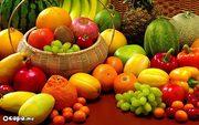 Свежие овощи и фрукты оптом  от производителя из Испании