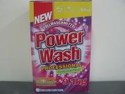 Стиральный порошок Power Wash,  Original Plus,  Perfect Gold,  Passion Gold,  Onyx,  Dreco.