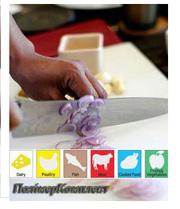 Доска разделочная кухонная  Plastik Rose