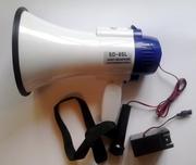 SD-8SL – мегафон на аккумуляторе,  рупор,  громкоговоритель с тангентой