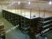 Складской мезонин. Проектирование и установка мезонинов для склада