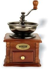 Деревянная механическая кофемолка