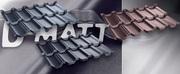 Купить металлочерепицу Венеция D MATT цена от 8 eur