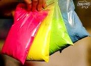 Яркие, безопасные краски Гулал Холи