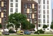 3к квартира! Современная планировка!  Французские балконы!